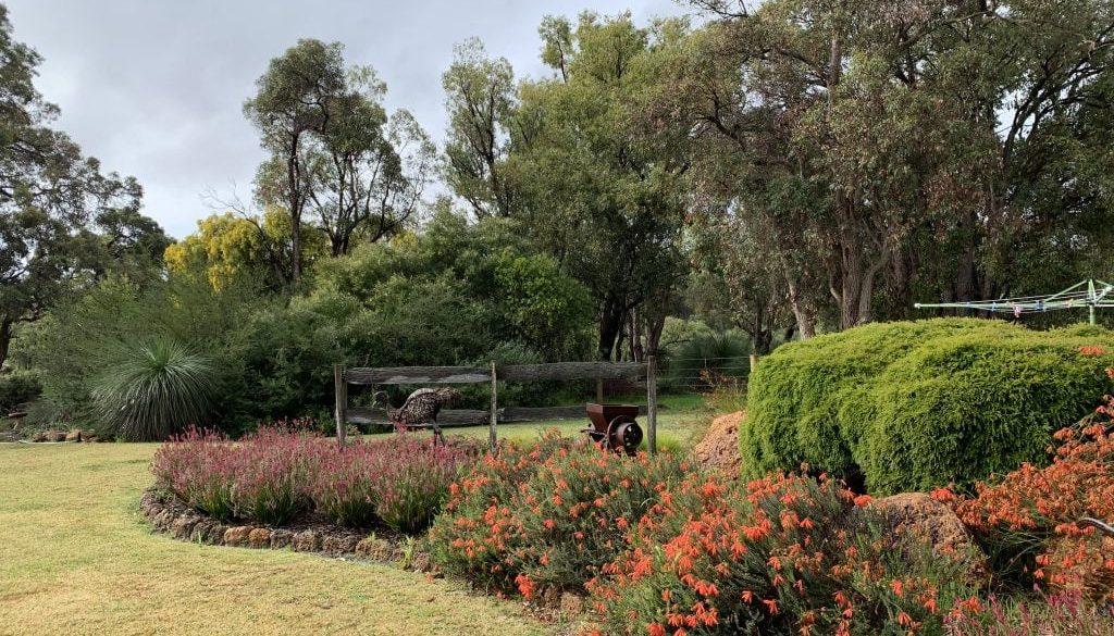 Cross Garden lawn