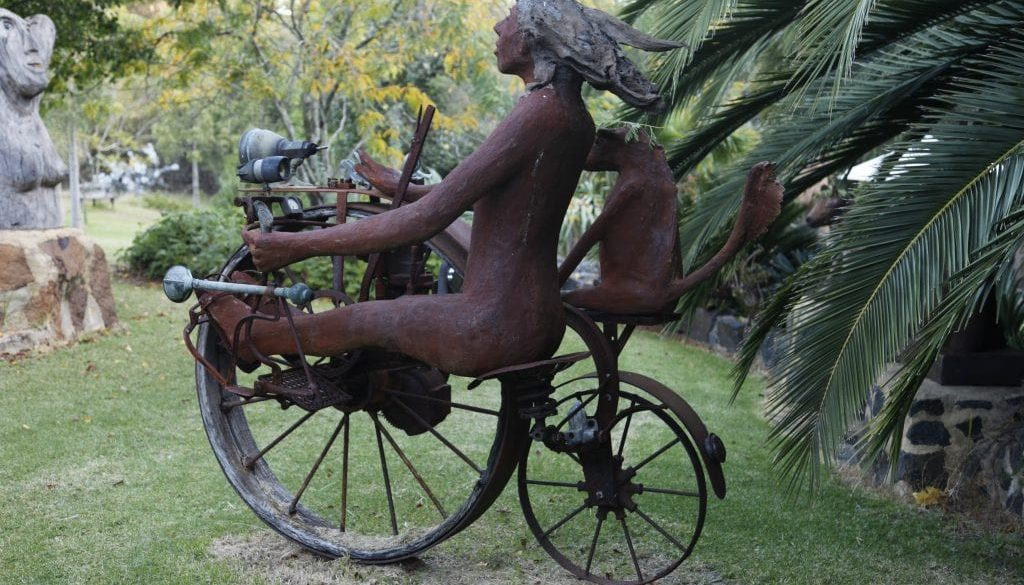 Skrolys sculpture bike